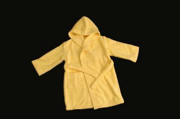Albornoz INFANTIL COLOR, con capucha 100% algodón