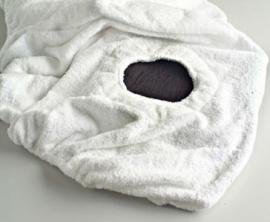 FUNDA CAMILLA ajustable 100% rizo algodón