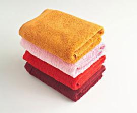 Toalla COLOR, rizo americano, 100% algodón