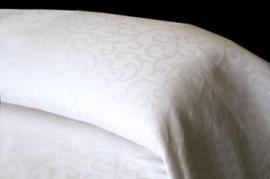 Colcha blanca NOA 50% algodón 50% poliéster