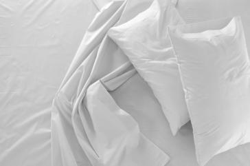 Funda almohada y cuadrante RASO MORITZ 100% algodón