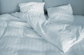 Funda nórdica blanca MORITZ 100% algodón peinado y mercerizado
