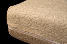 Funda colchón elástica rizo jacquard BAMBÚ 70% Bambú 30% poliéster