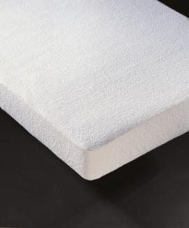 Protector colchón rizo Impermeable-transpirable 80% algodón 20% poliéster